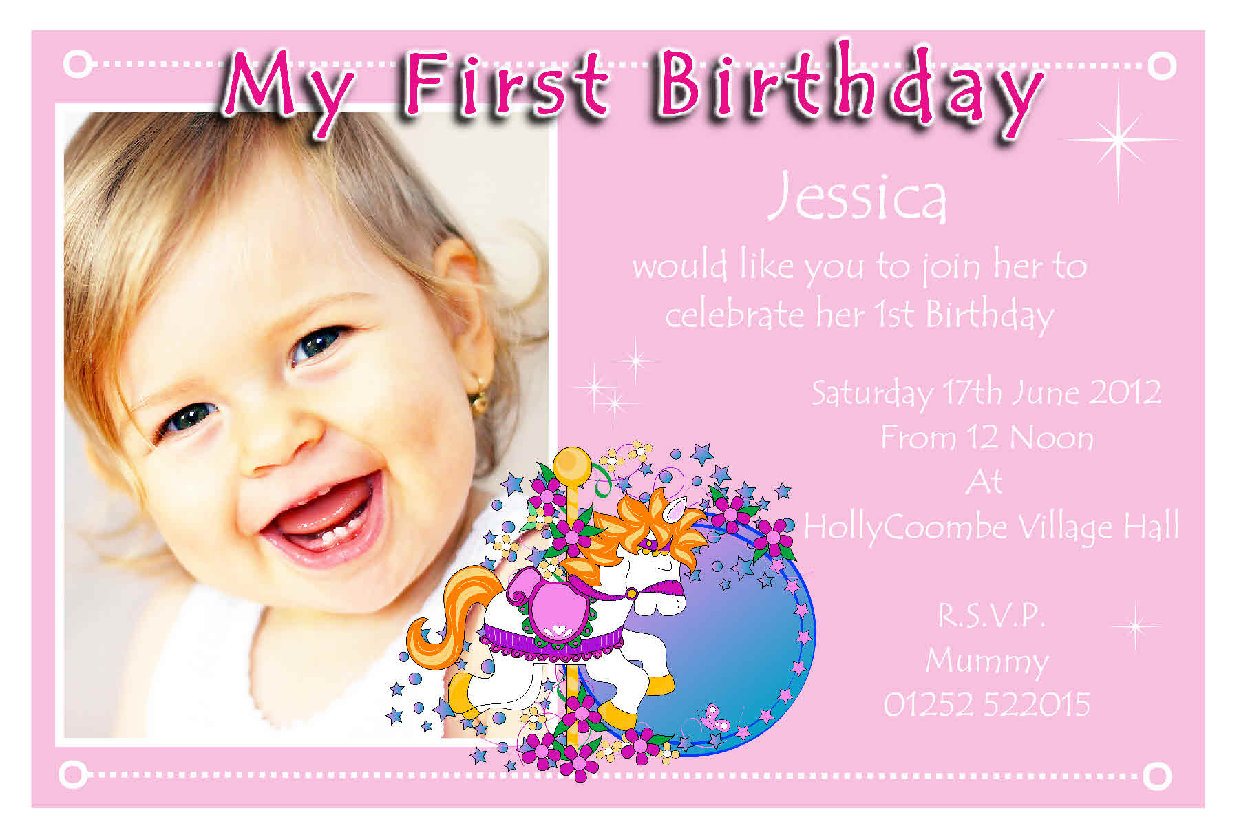 1 birthday invitation ; 1St-Year-Baby-Birthday-Invitation-Cards-and-get-inspired-to-create-your-own-birthday-Card-design-with-this-ideas-1