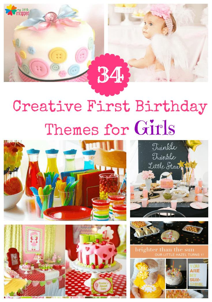 1 year old birthday activities ; New-first-birthday-for-girls-themes-pinterest-new