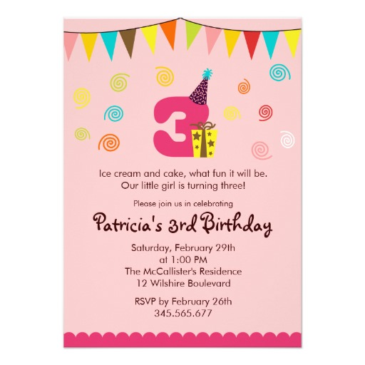 10 Year Old Birthday Invitations Party