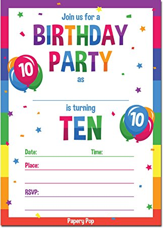 10 year old birthday invitations ; 713os1%252BVT8L