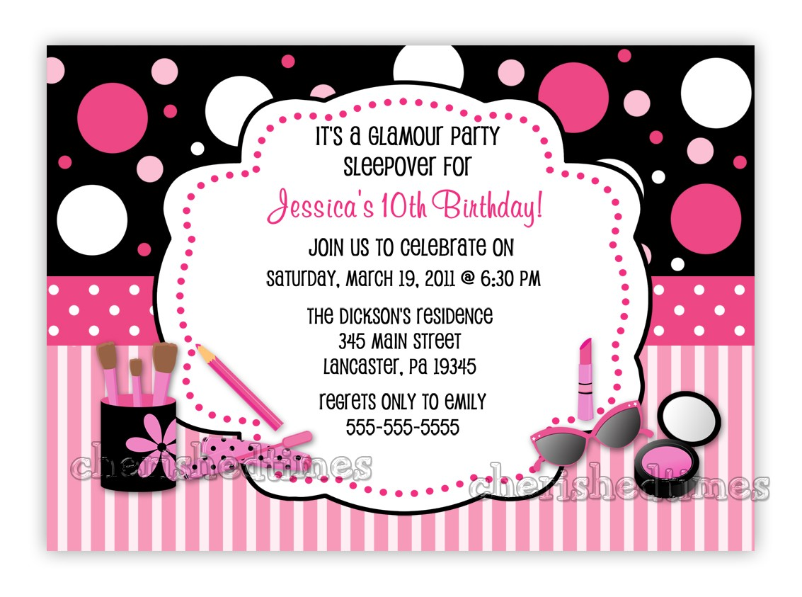 10th birthday invitation ; Create-Birthday-Party-Invitations-will-give-you-extra-ideas-to-create-your-own-Birthday-invitation-2