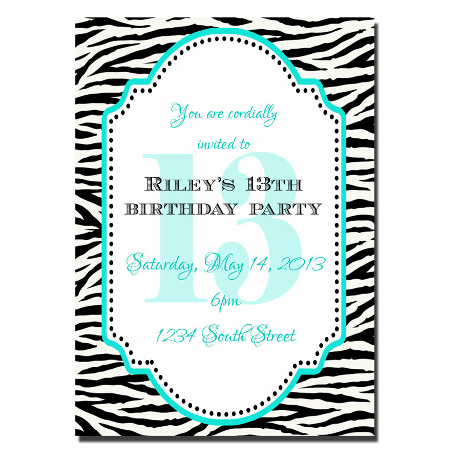 13 year old birthday invitations free printable ; 13_birthday_invitations_6