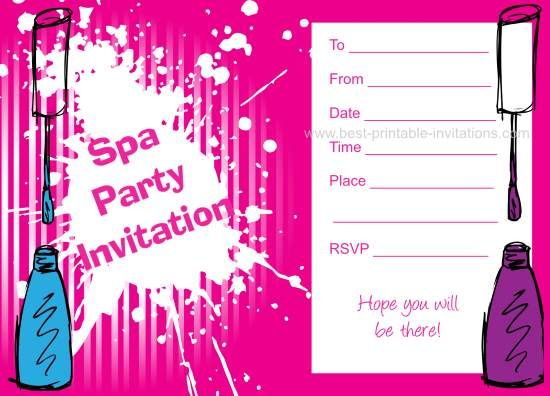 13 year old birthday invitations free printable ; 79078c0a9fbc503898cb7b6cdb587b79