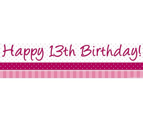 13th birthday banners ; product_96344_1_orig