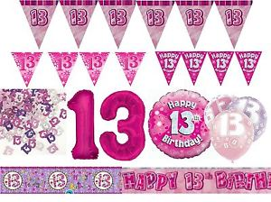 13th birthday banners ; s-l300