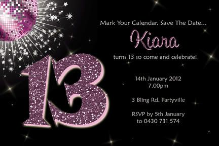 13th birthday invitations ; 13th-birthday-invitations-and-get-inspired-to-create-your-Birthday-invitation-with-smart-design-1