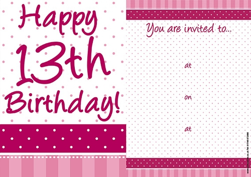 13th birthday invitations ; 13th-birthday-party-invitations-13th-birthday-party-invitations-badbrya-ideas