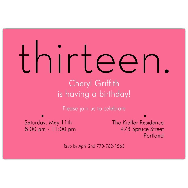 13th birthday invitations free templates ; 13th-birthday-party-invitations-badbrya-13th-birthday-invitations-templates