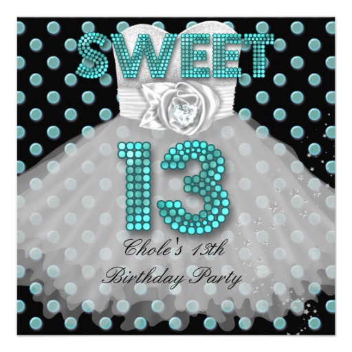 13th birthday invitations printable ; sweet_13th_birthday_party_girls_13_teen_teal_blue_invitation-r898c7ce034834f2297e951dc1193ed90_imtet_8byvr_512