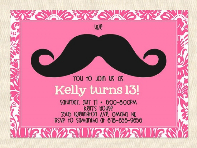 13th birthday party invitations templates free ; 13th-birthday-invitation-templates-free-printable-birthday-party