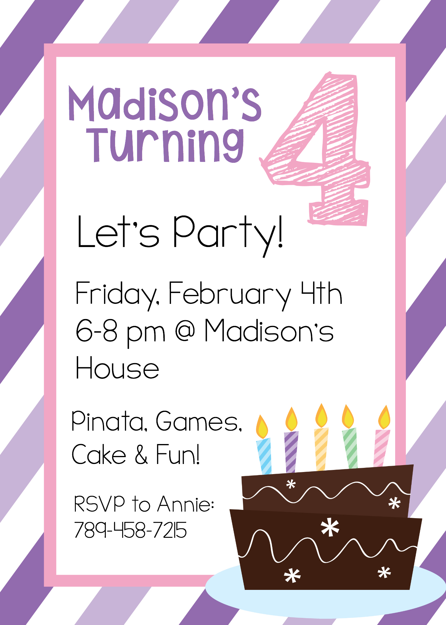 13th birthday party invitations templates free ; 3Rd-Birthday-Party-Invitations-combined-with-your-creativity-will-make-this-looks-awesome-13