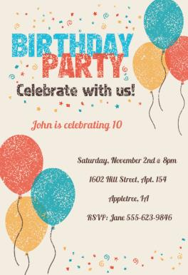 14th birthday invitation templates ; birthday-party-invitation-template-specially-created-for-your-Birthday-Invitation-Cards-invitation-card-design-14