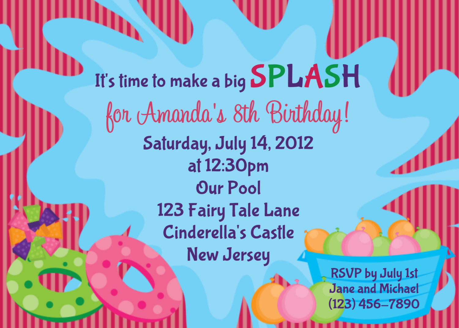 14th birthday invitation templates ; il_fullxfull