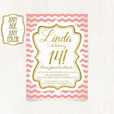 14th birthday invitations ; df88bec108e5312a04b900a3048954e6--teen-birthday-invitations-th-birthday