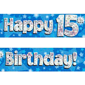 15th birthday banner ; blue-age-15-banner-big