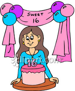 16th birthday clipart ; Girl_Having_Her_16th_Birthday_Royalty_Free_Clipart_Picture_090131-165895-997042