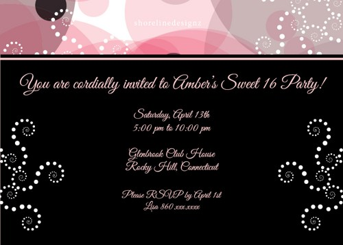 16th birthday invitation templates ; 16th-birthday-party-invitation-wording-to-inspire-you-how-to-create-the-Birthday-invitation-with-the-best-way-5