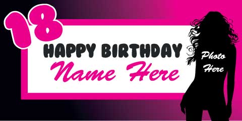 18th birthday banners ; Birthday-Banners-2-small-1