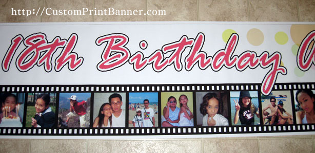 18th birthday banners ; IMG_9074s