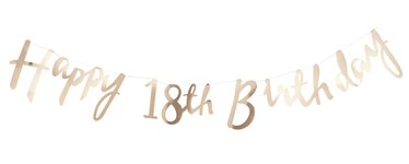 18th birthday banners ; pick-n-mix-18th-birthday-gold-letter-bunting-PMIX18BUNT_v1_p60
