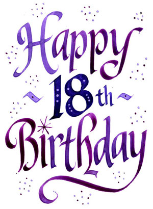 18th birthday clipart ; 18th-birthday-clipart-1