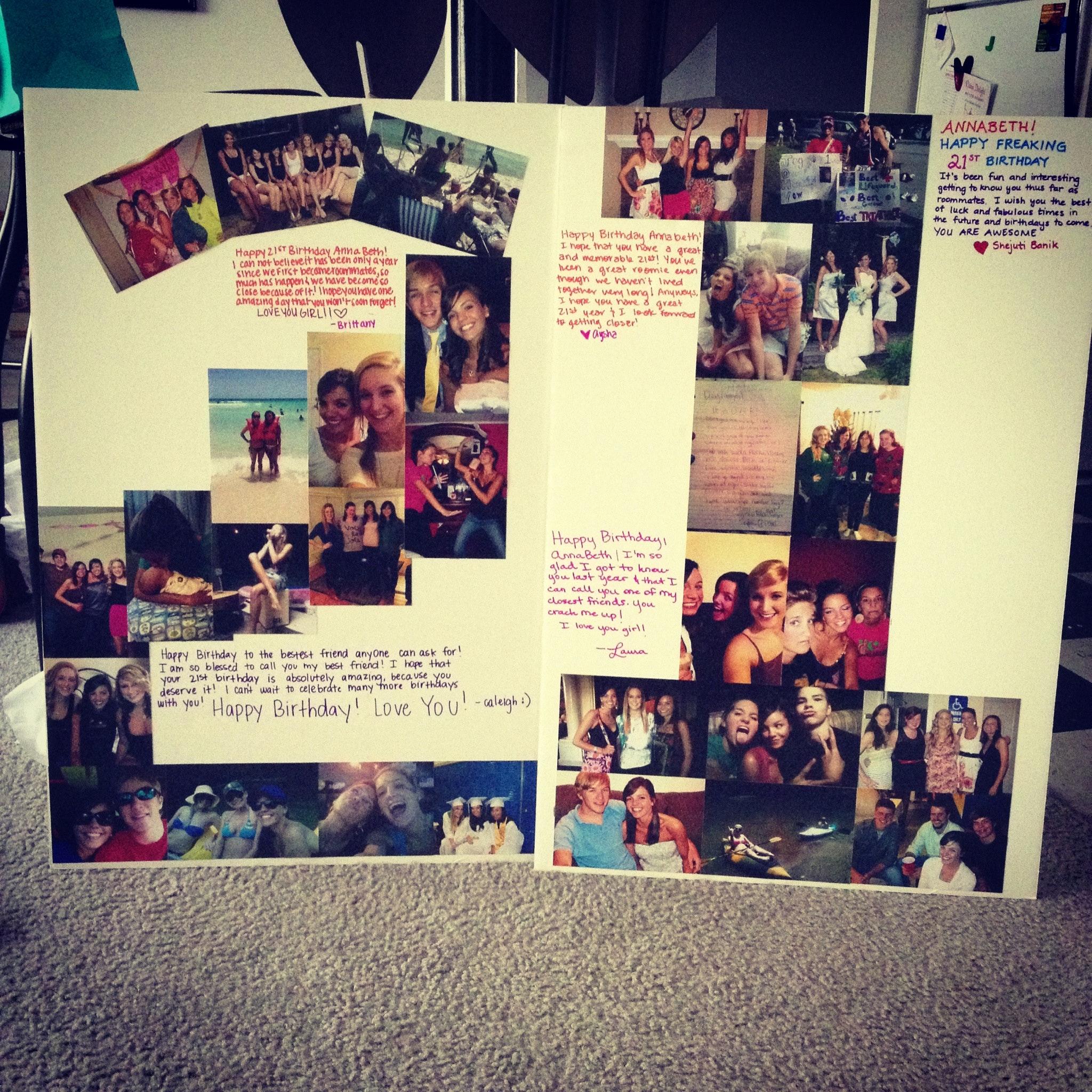 18th birthday poster ; amazing-how-to-make-a-poster-out-of-picture-and-good-ideas-of-cute-18th-birthday-poster-for-your-best-friend-posters-16