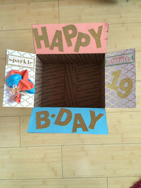 18th birthday poster designs ; 4fd9b647dc756b19a04013c02ed99883--happy-birthday-box-care-packages-missionary-birthday-package
