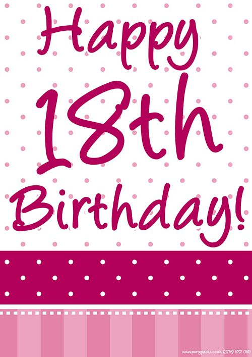 18th birthday poster designs ; product_96307_1_orig