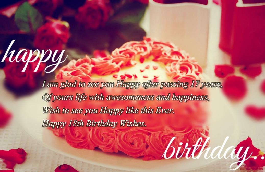 18th birthday wallpaper ; Heart-18th-Birthday-Wishes-and-Messages