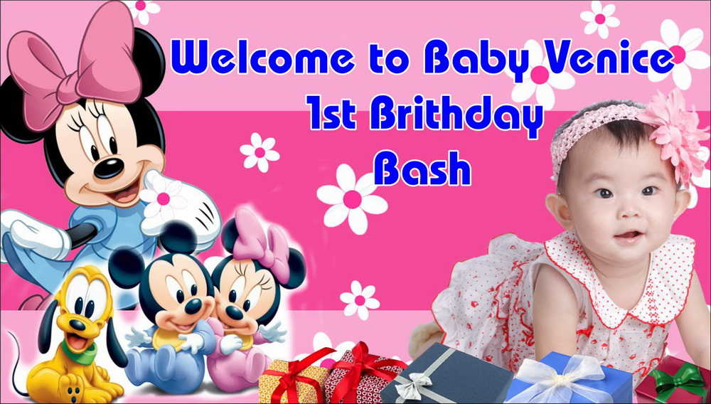 1st birthday banner background design ; 1st-birthday-banner-background-design-8