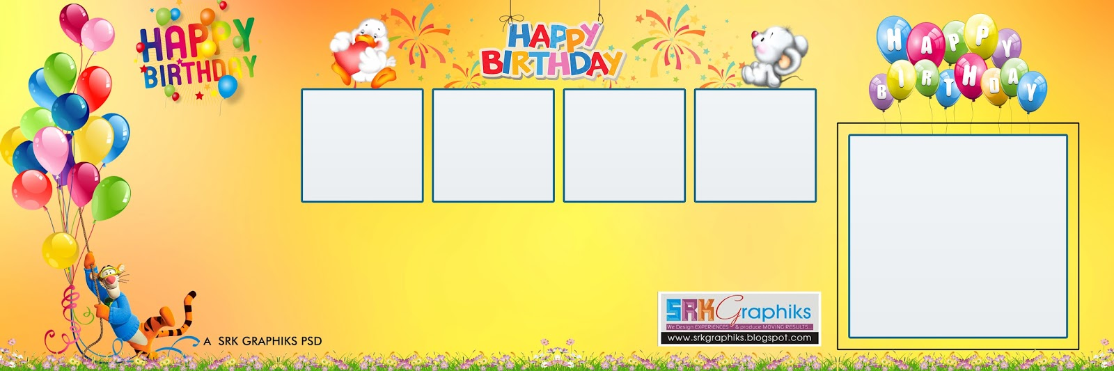 1st birthday banner background design ; 30