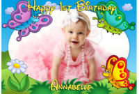 1st birthday banner design ; 1St-Birthday-Banner-Template-2-200x135