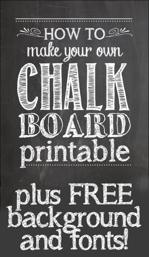 1st birthday chalkboard sign template free ; how-to-make-chalkboard-printables-479x6003