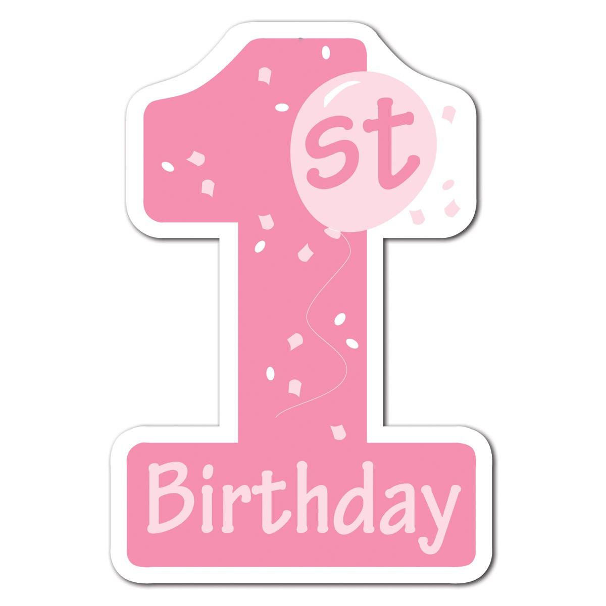 1st birthday clipart ; 1652114