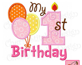 1st birthday clipart ; 1st-birthday-clipart-2