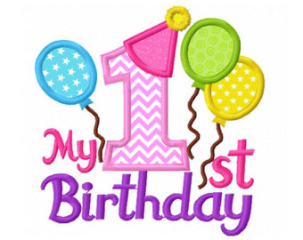 1st birthday clipart ; first-birthday-cliparts-42
