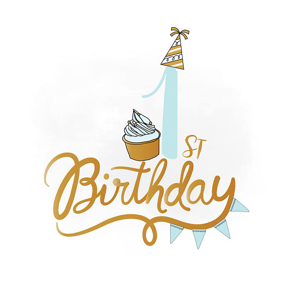 1st birthday clipart ; il_570xN