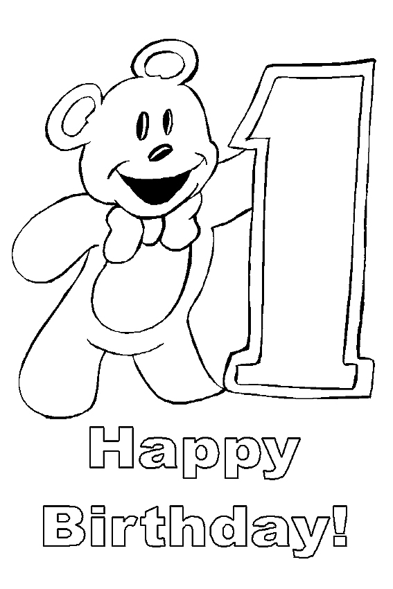 1st birthday coloring pages ; happy-birthday-coloring-pages-1-003