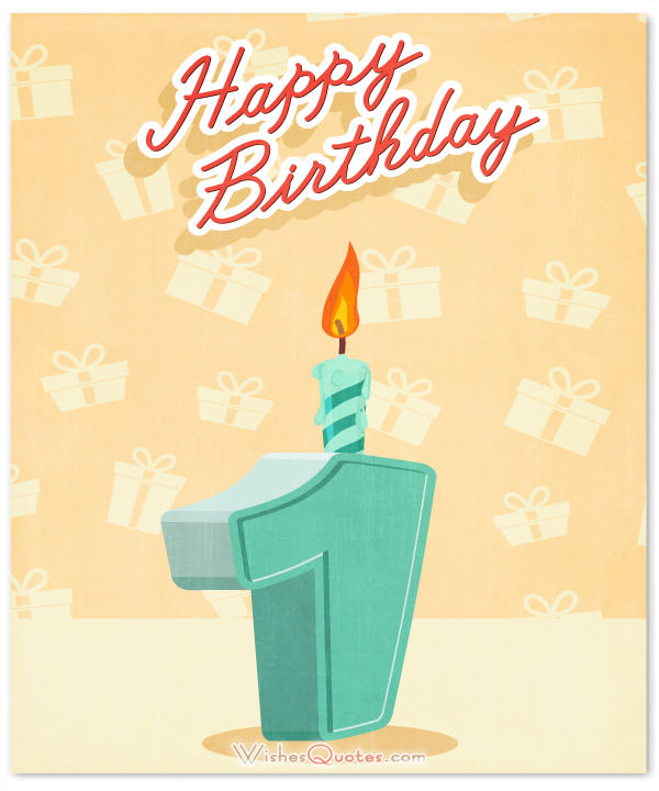 1st birthday greeting card messages ; Happy-1st-birthday-card