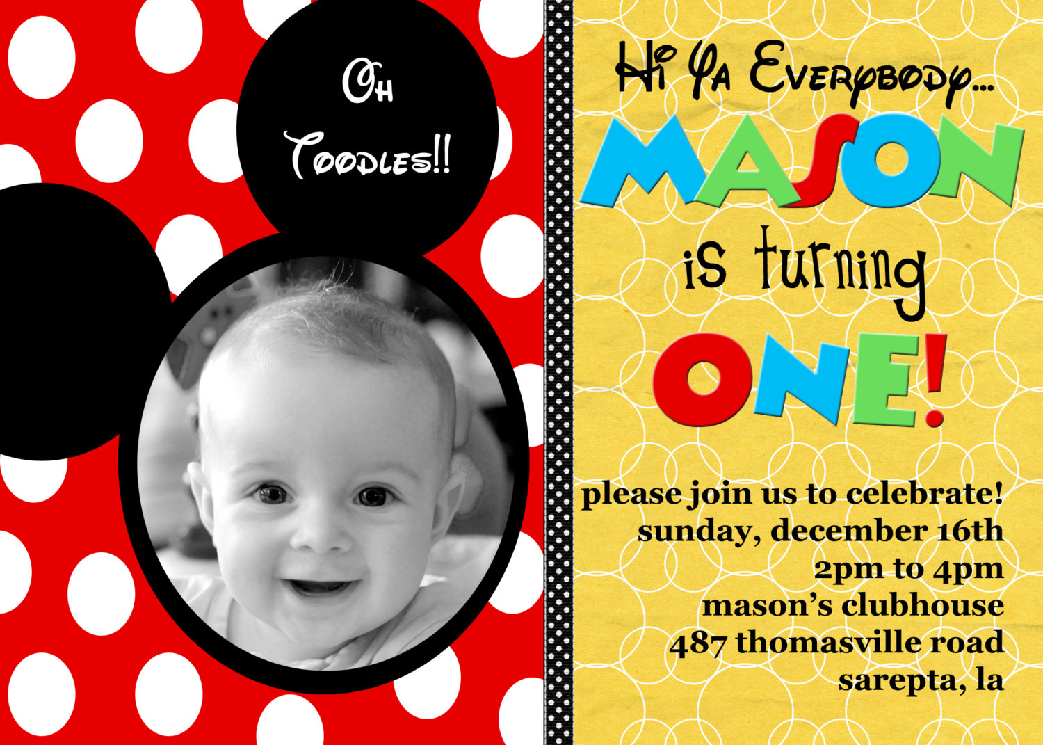 1st birthday invitation mickey mouse theme ; Personalized-Mickey-Mouse-Birthday-Invitations-which-can-be-used-to-make-your-own-Birthday-invitation-design-1