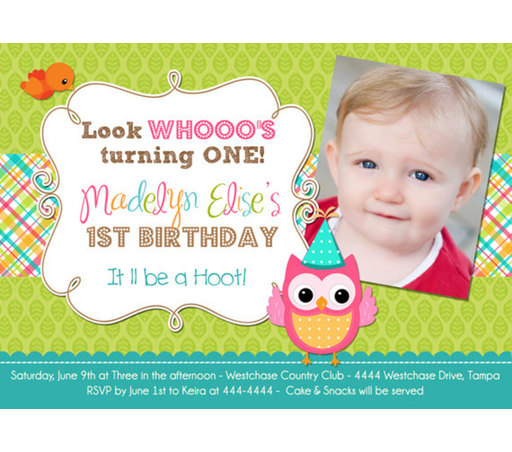 QuotesGram Birthday Quotes Invitation: 1st Birthday Invitation Quotes