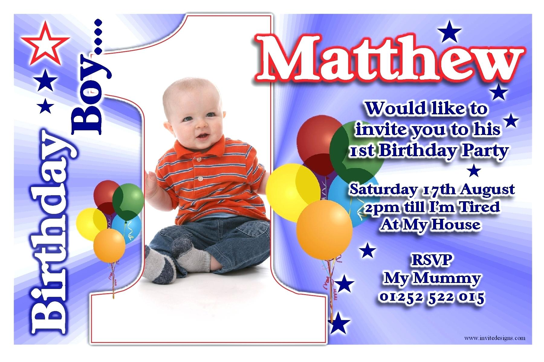 1st birthday invitation quotes for baby boy ; baby-boy-1st-birthday-invitation-template-first-quotes-elegant-cards-amazing-design-templates
