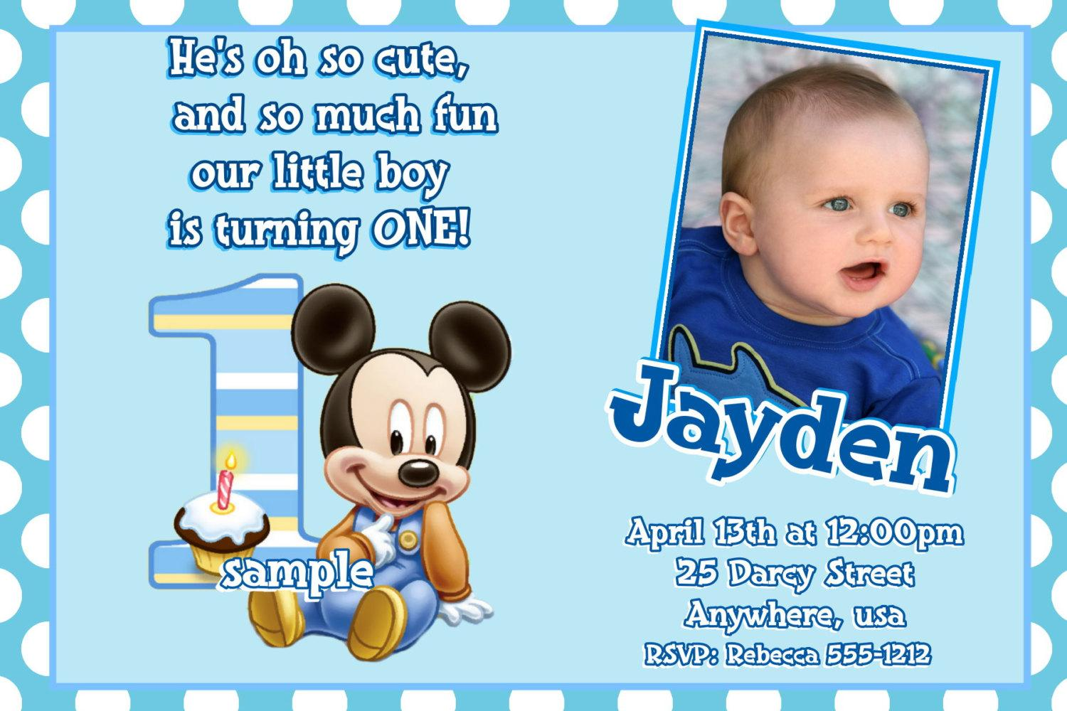 1st birthday invitation quotes for baby boy ; baby-first-birthday-invitation-wording