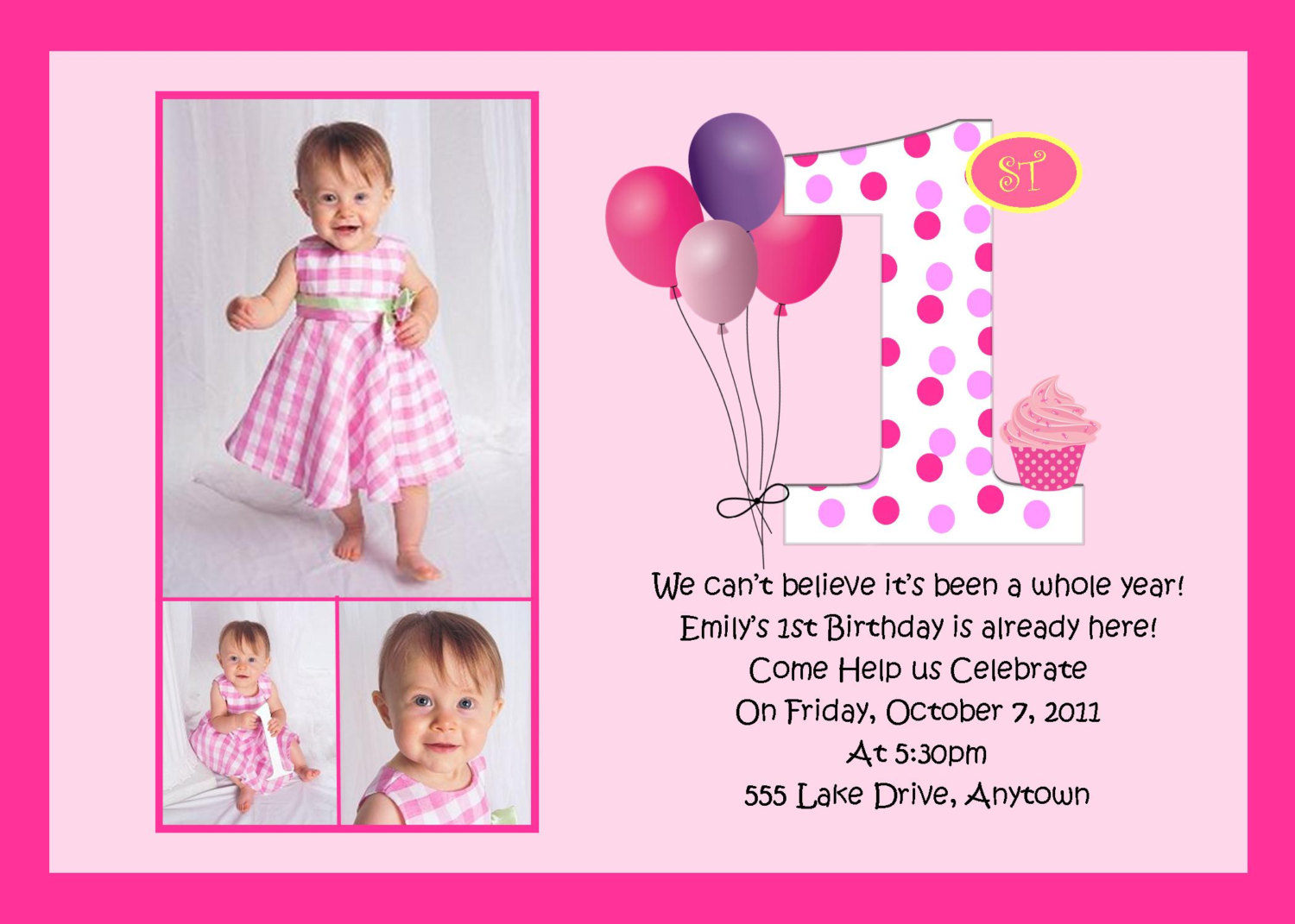1st birthday invitation quotes for baby girl ; 1St-Birthday-Invitation-Wording-is-most-adorable-ideas-you-may-choose-for-invitations-sample