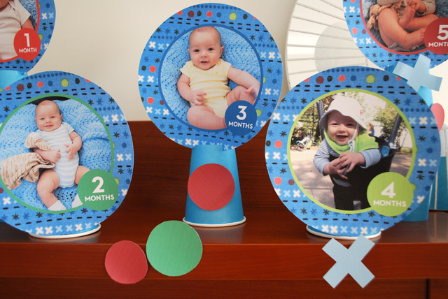 1st birthday party activities for kids ; baby-month-by-month-photo-idea-for-a-1st-birthday-party