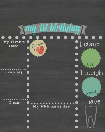 1st birthday poster template free ; 1st-birthday-chalkboard-poster-template-free-printable-first-birthday-chalkboard-sign-bacenter