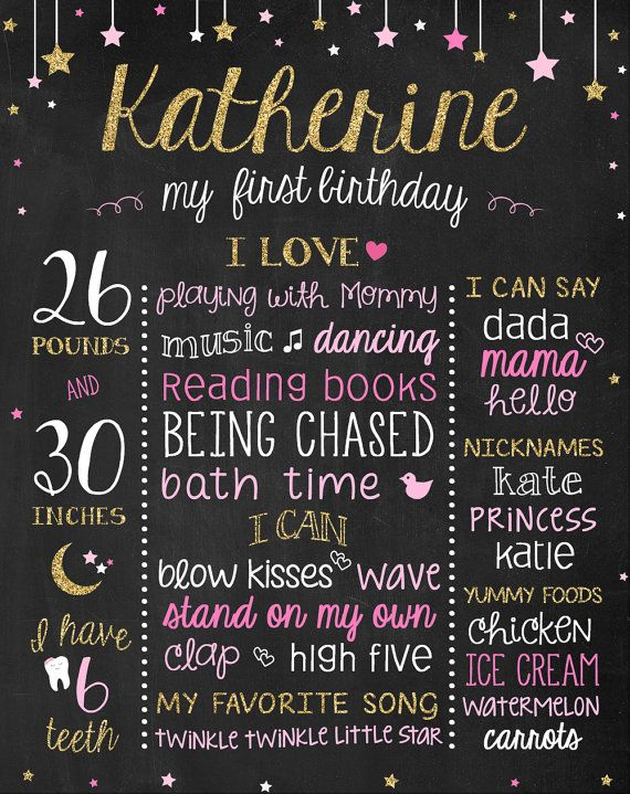 1st birthday sign ; ae2e0bf705bf918b875cca640e5edd15--st-birthday-signs-first-birthday-posters