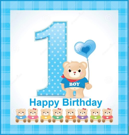 1st birthday wishes card for baby boy ; Fantastic-E-Card-Birthday-Wishes-For-1st-Baby-Boy-517x540