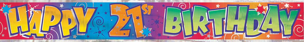 21st birthday banner ; product_67525_1_orig
