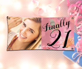 21st birthday banners personalized ; 21st_birthday_copy
